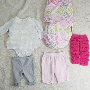 Baby girl clothing lot bulk Ralph Lauren Gap 3-6m